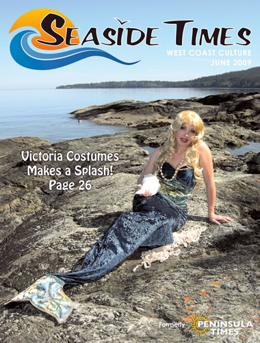 Victoria Costumes is featured in June's issue of the Seaside Times